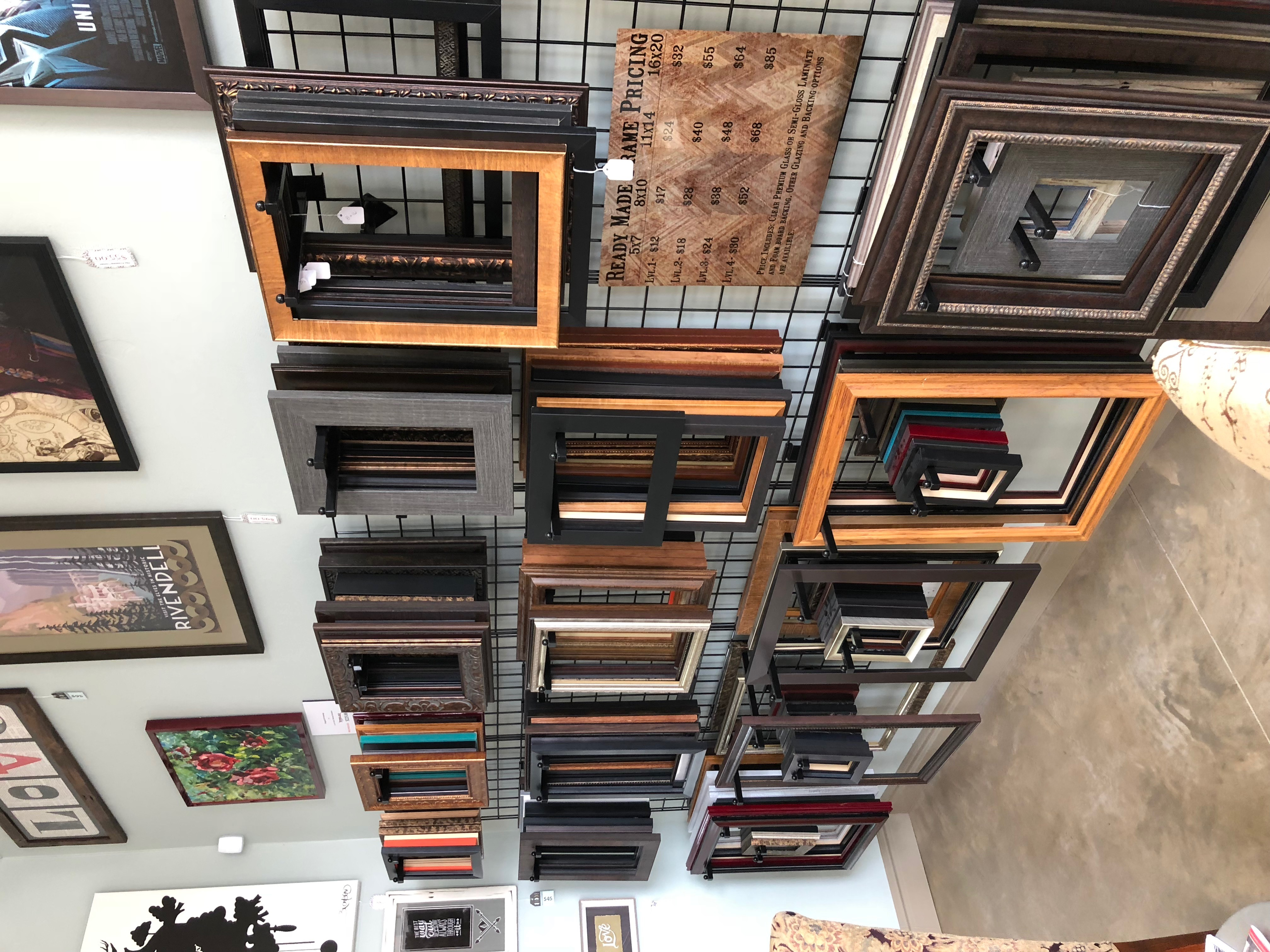 Ready made frames at KC Framing Corner | KC Frames